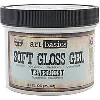 Гель - Прозорий -  Finnabair Art Basics Soft Gloss Gel - Prima Marketing -  250 мл.
