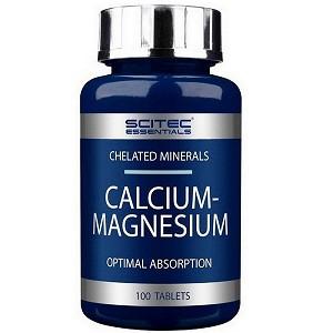 Витамины и минералы Scitec Nutrition Calcium Magnesium (100 таб.)