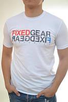 Летняя  мужская футболка с надписью  оптом и в розницу