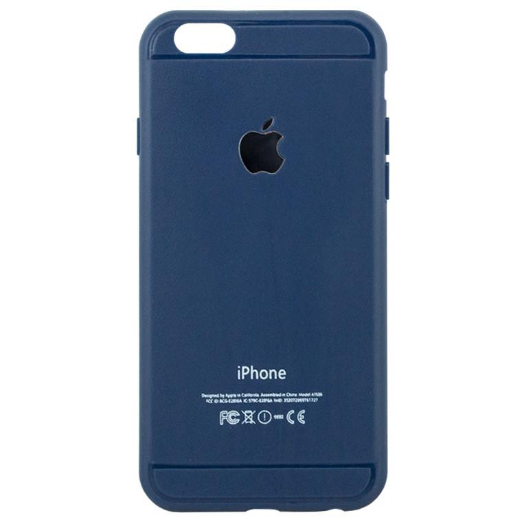 Чехол силиконовый W.S Apple iPhone 6 синий