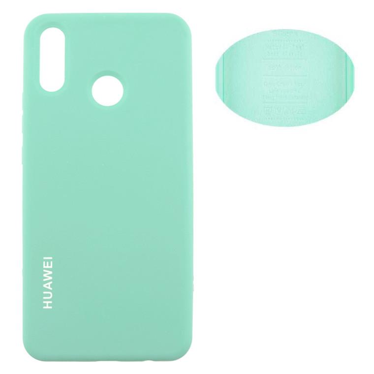 Накладка Silicone Cover Huawei P Smart Plus бирюзовый