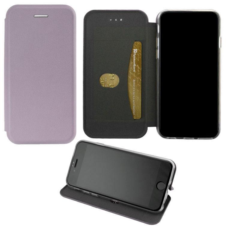 Чехол-книжка Elite Case Huawei Y5 2018 серый