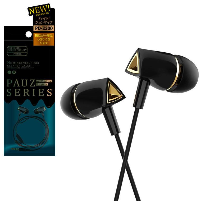 Наушники с микрофоном Remax Proda PD-E200 черные