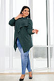 Женский трикотажный кардиган от42-до56р.(5расцв), фото 6