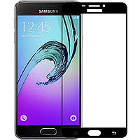 Защитное стекло Full Screen Samsung A5 2016 A510 black тех.пакет