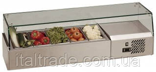 Витрина холодильная для топпинга Tefcold VK33-150