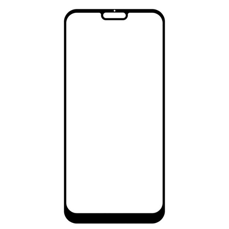 Защитное стекло Full Glue Xiaomi Mi 8 Lite black тех.пакет