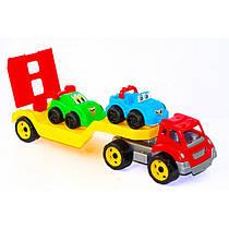 ТЕХНОК Автовоз с машинами в коробке