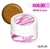 Цветная гель-краска с блестками для рисования на ногтях  Lady Victory LDV GLPS-05/9-0