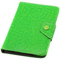 Чехол-книжка 6 дюймов уголки-магнит NEW зеленый