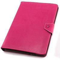 Чехол-книжка 9 дюймов уголки-магнит NEW розовый