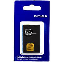 Аккумулятор Nokia BL-4U 1000 mAh 500, 600, 5250 AAA класс блистер