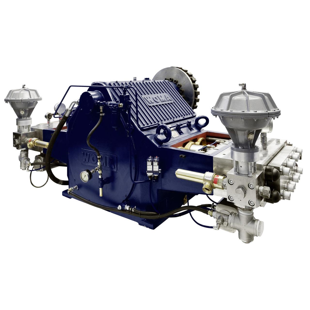 Плунжерный насос высокого давления WOMA СЕРИИ Z Pump Type 1000Z