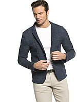 Серый мужской пиджак LC Waikiki / ЛС Вайкики с накладными карманами, фото 1