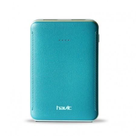 Портативное зарядное устройство HAVIT HV-PB004X cyan green