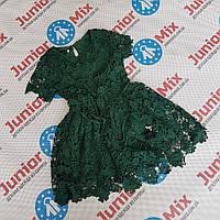 Детские нарядные гипюровые платья для девочек оптом  ИТАЛИЯ