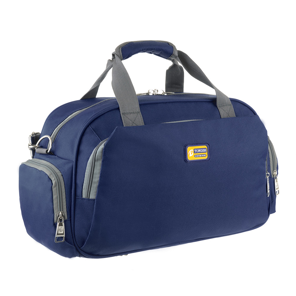 Дорожная сумка TONGSH  48x28x20 синяя полиэстер  кс99218син