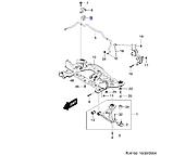 Втулка стабилизатора переднего 17мм, Лачетти седан_J200 (69), 96839848, GM, фото 4