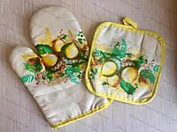 Кухонный набор прихватка и рукавичка