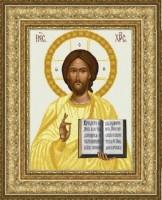 Схема для вышивки бисером Иисус Христос Венчальный (золото)