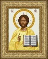 Схема для вышивки бисером Иисус Христос Венчальный (золото), фото 2