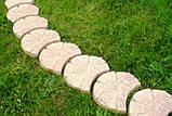 Садовая дорожка деревянная в украинском стиле с доставкой по всей Украине, фото 5