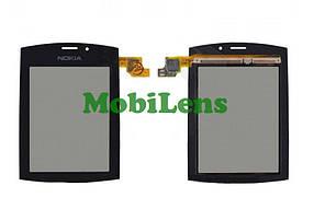 Nokia 303 Тачскрин (сенсор) черный