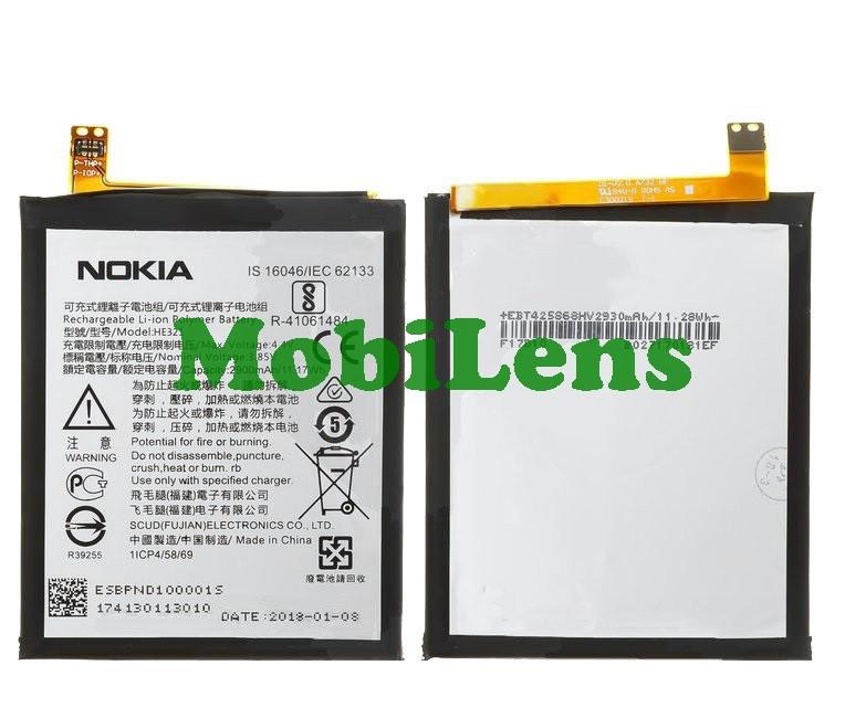 Nokia 5 Dual, HE321, TA-1024, TA-1044, TA-1027, TA-1053 Аккумулятор