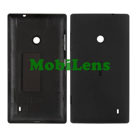 Nokia 520, RM-914, 525 Lumia Задняя крышка черная, фото 2