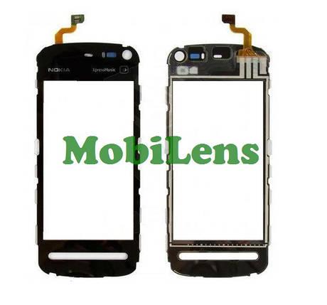 Nokia 5800 Тачскрин (сенсор) черный, фото 2