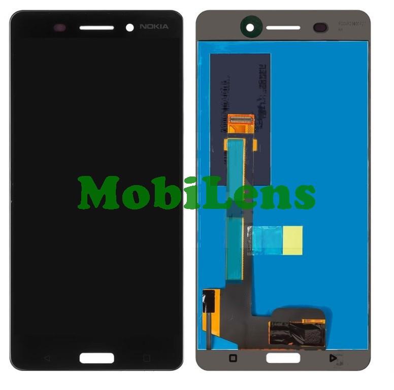 Nokia 6 Dual, TA-1000, TA-1021, TA-1033, TA-1039 Дисплей+тачскрин(модуль) черный