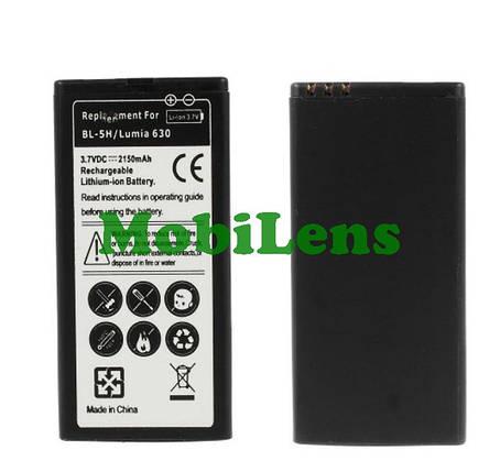 Nokia 630, BL-5H, 635 Lumia, 636, 638, RM-974, RM-978, RM-1010, RM-1027 Аккумулятор, фото 2