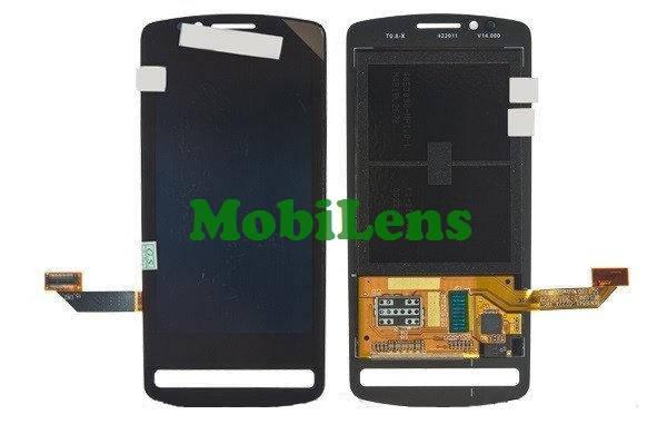 Nokia 700, RM-670 Дисплей+тачскрин(модуль) черный, фото 2