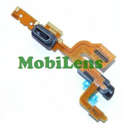 Nokia 925 Lumia Шлейф с разьемом зарядки, разьемом наушников и микрофоном, фото 2