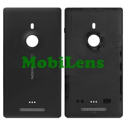 Nokia 925 Lumia Задняя крышка черная, фото 2