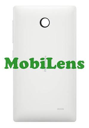 Nokia X Dual, RM-980 Задняя крышка белая, фото 2