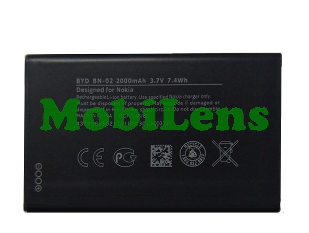Nokia XL Dual, BN-02, RM-1030 Аккумулятор