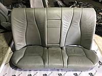Задній диван сіра шкіра Mercedes s-class w220, фото 1