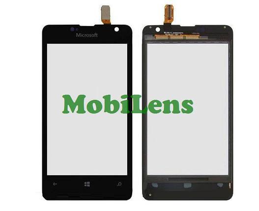 Microsoft 430 Lumia, RM-1099 Тачскрин (сенсор) черный, фото 2