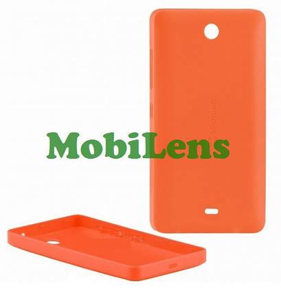 Microsoft 430 Lumia, RM-1099 Задняя крышка оранжевая, фото 2