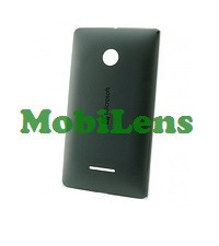 Microsoft 435 Lumia, 532 Dual, RM-1031, RM-1032, RM-1069, RM-1071 Задняя крышка черная (с боковыми кнопками)