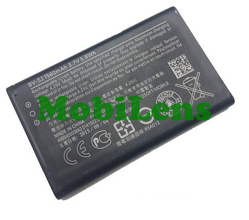 Microsoft 435 Lumia, BV-5J Аккумулятор, фото 2