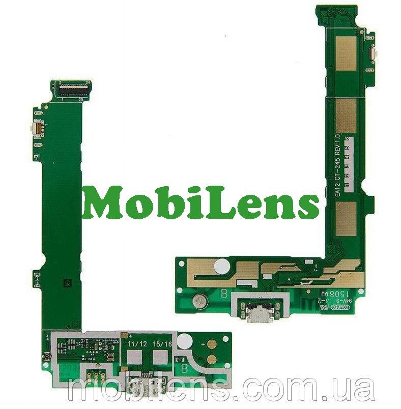 Microsoft 535 Lumia, RM-1089, RM-1090 Шлейф с разьемом зарядки и микрофоном