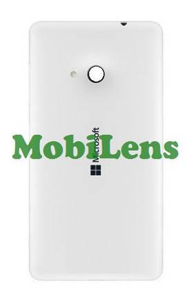Microsoft 535 Lumia, RM-1089, RM-1090 Задняя крышка белая, фото 2
