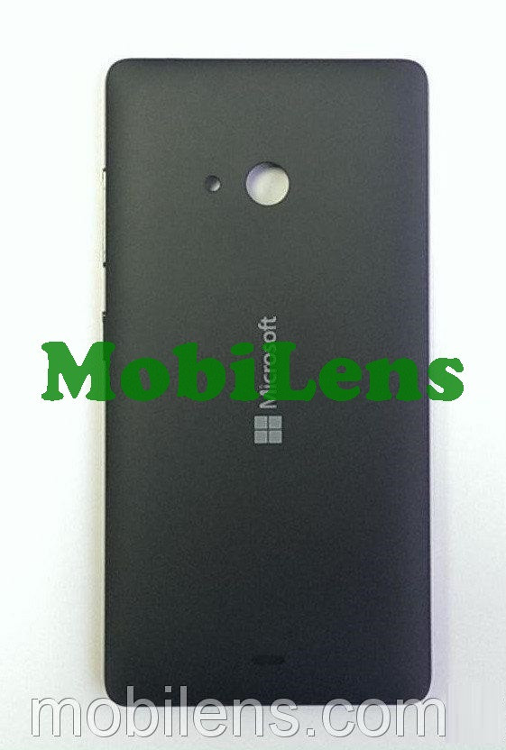 Microsoft 540 Lumia, RM-1141 Задняя крышка черная