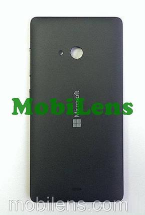 Microsoft 540 Lumia, RM-1141 Задняя крышка черная, фото 2
