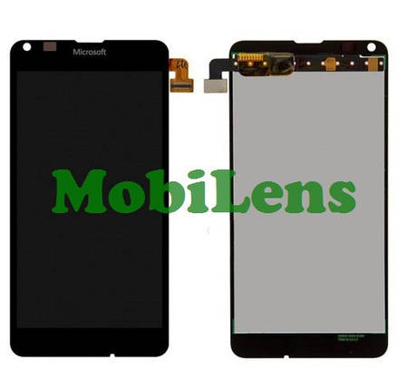 Microsoft 640 Lumia, RM-1077, RM-1072, RM-1073 Дисплей+тачскрин(модуль) черный, фото 2