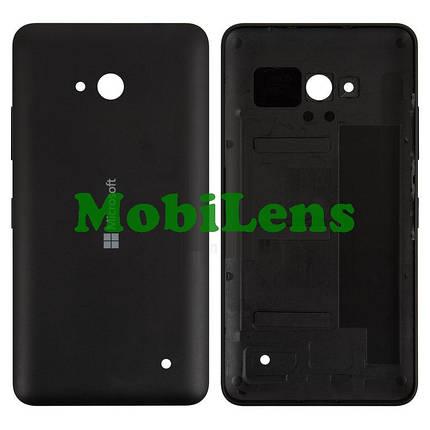 Microsoft 640 Lumia, RM-1077, RM-1072, RM-1073 Задняя крышка черная (с боковыми кнопками), фото 2
