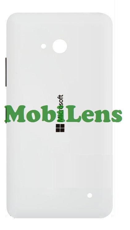 Microsoft 640 Lumia, RM-1077, RM-1072, RM-1073 Задняя крышка белая (с боковыми кнопками)