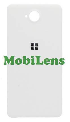 Microsoft 650 Lumia, RM-1152, RM-1154 Задняя крышка белая, фото 2